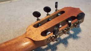 Back of the headstock details